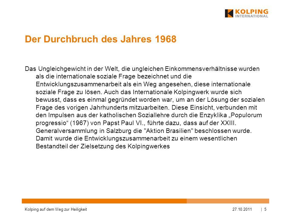 Der Durchbruch des Jahres 1968