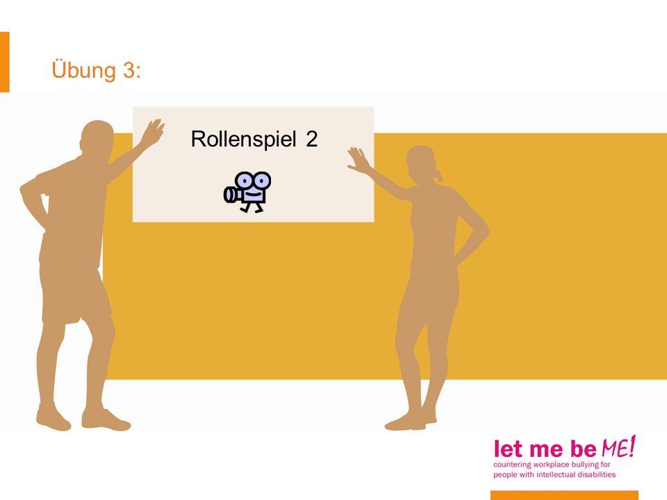 Übung 3: Rollenspiel 2