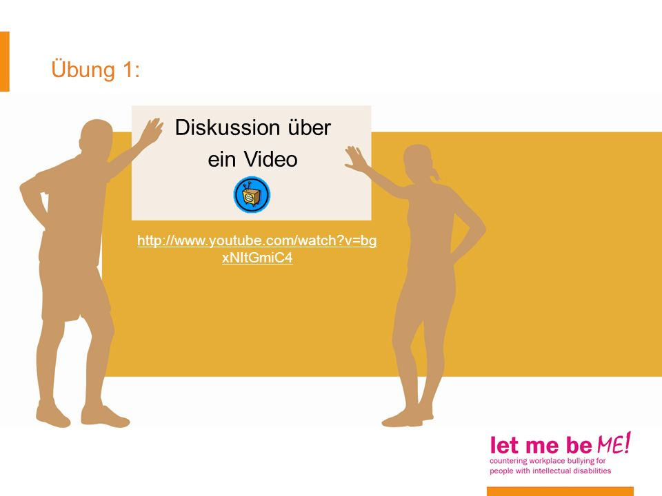 Diskussion über ein Video