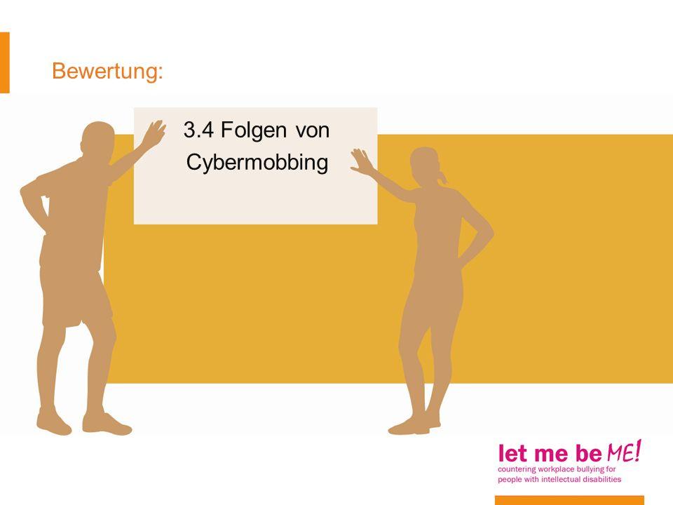 3.4 Folgen von Cybermobbing
