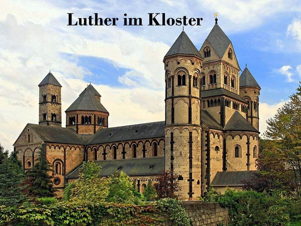 Luther im Kloster