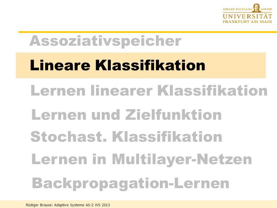 Stochast. Klassifikation