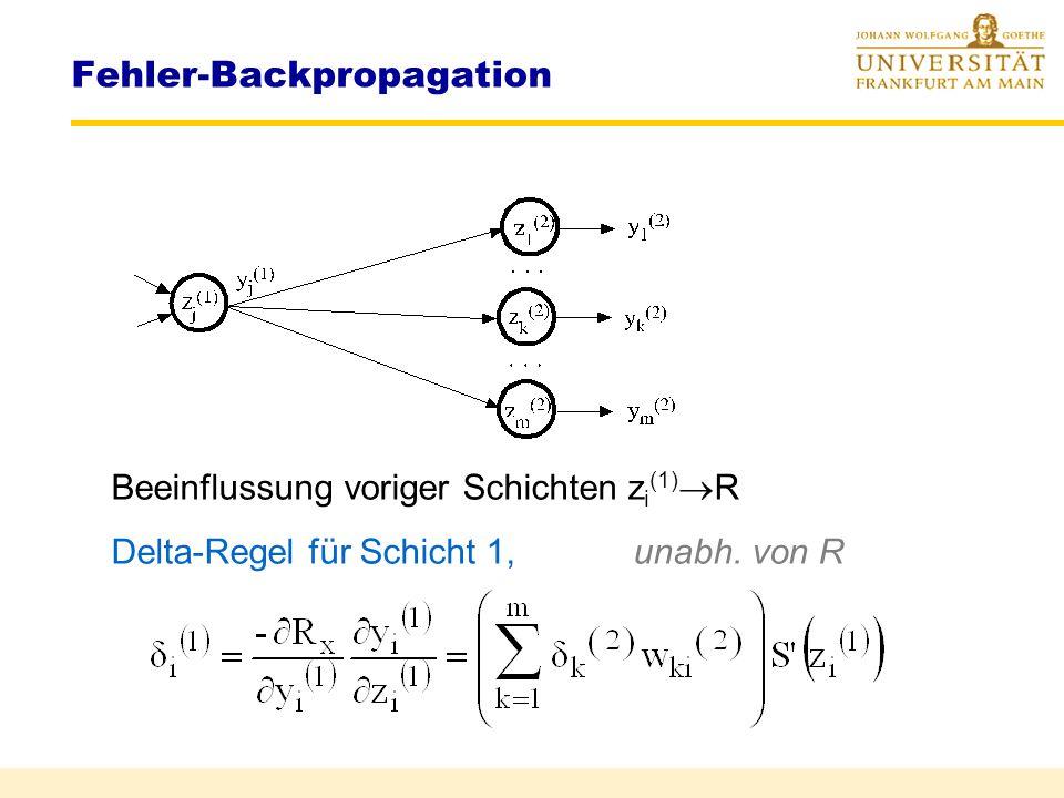 Fehler-Backpropagation