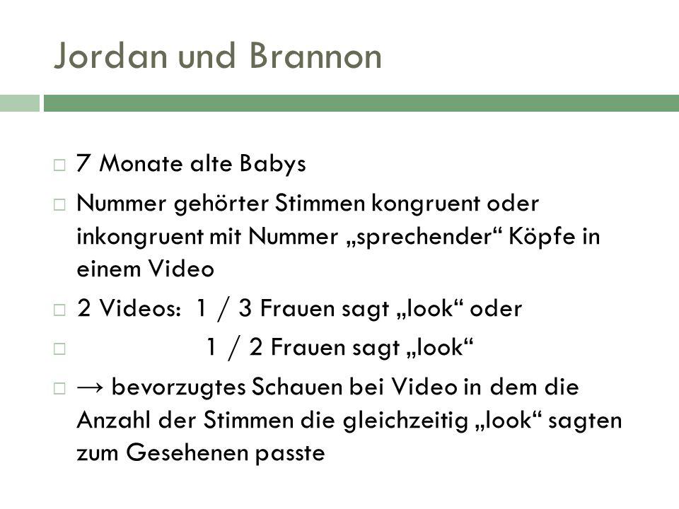Jordan und Brannon 7 Monate alte Babys
