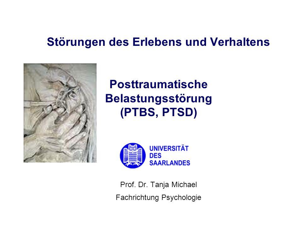 Prof. Dr. Tanja Michael Fachrichtung Psychologie