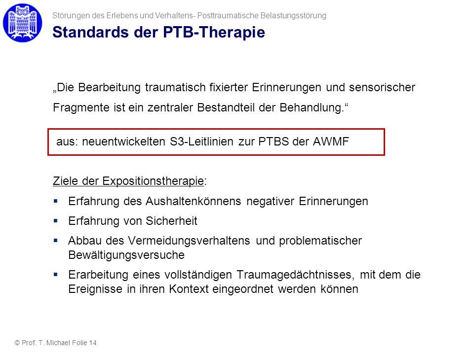 Standards der PTB-Therapie