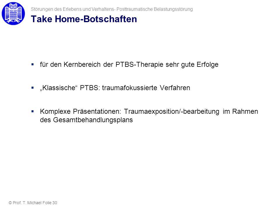 Take Home-Botschaften