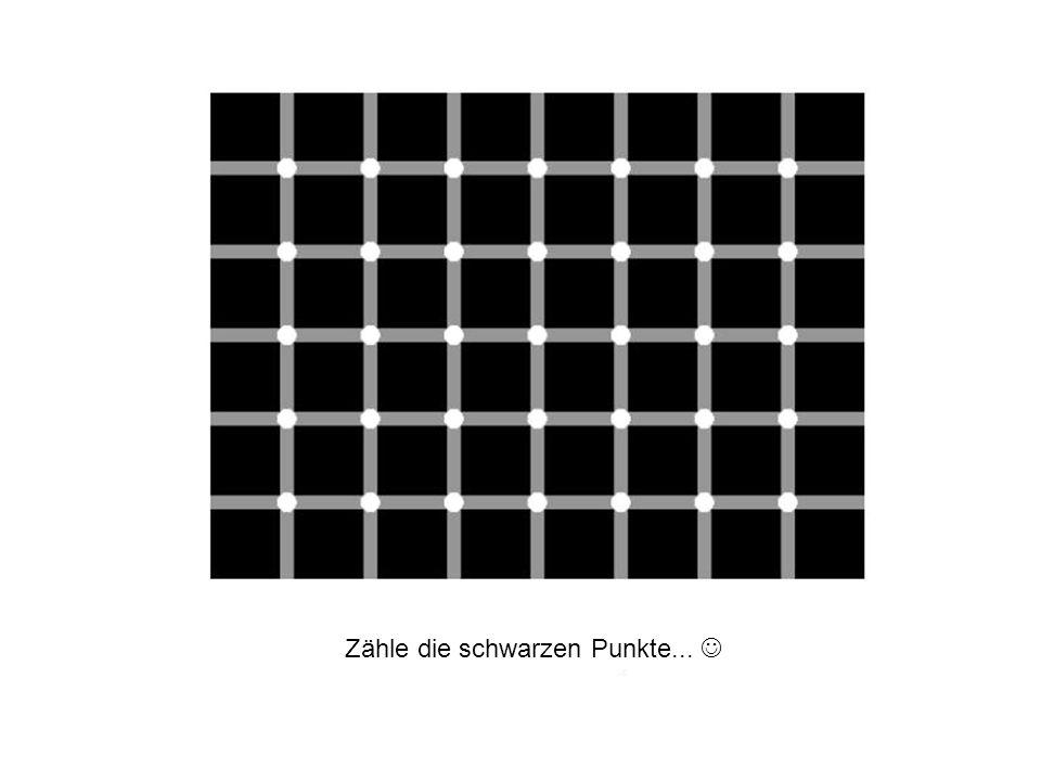 Zähle die schwarzen Punkte... 