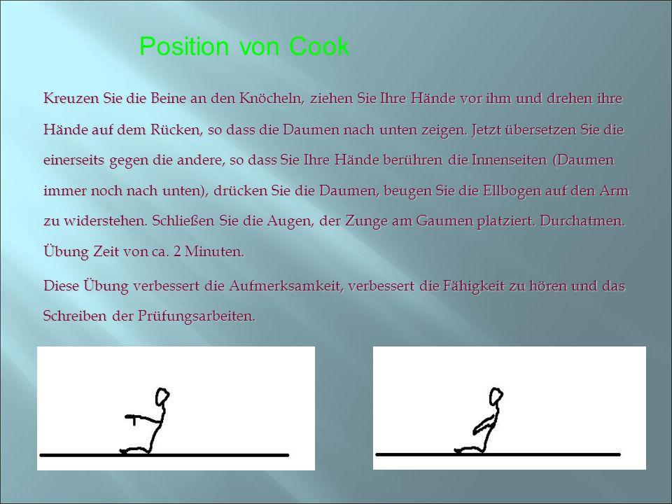 Position von Cook