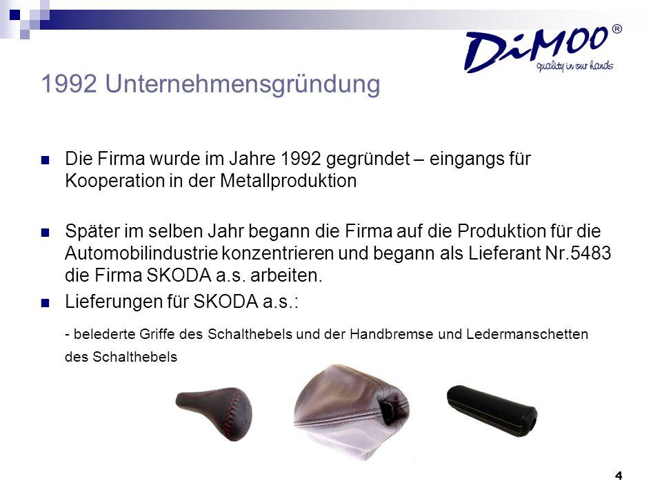 1992 Unternehmensgründung