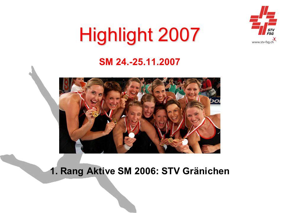 1. Rang Aktive SM 2006: STV Gränichen