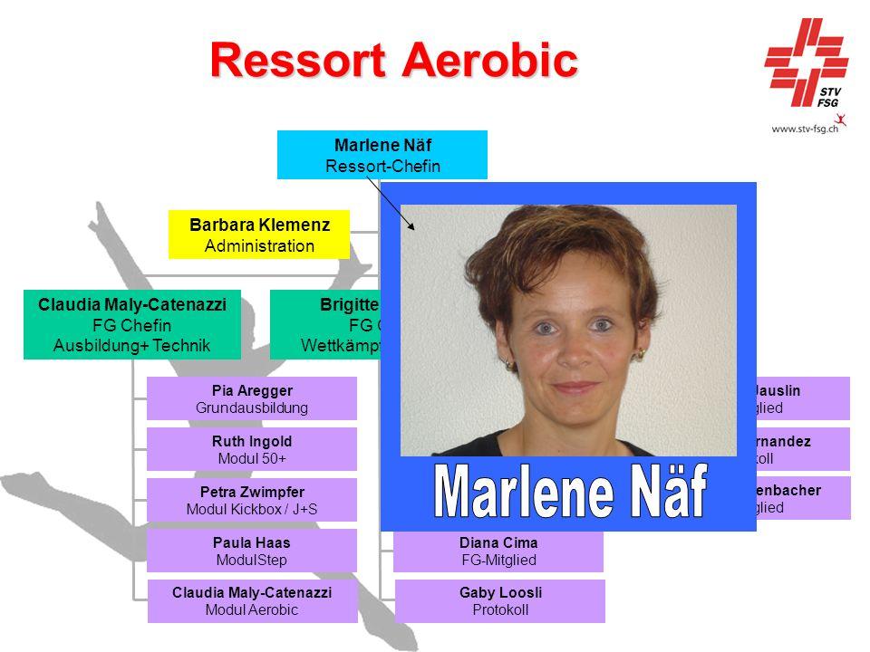 Ressort Aerobic Marlene Näf Marlene Näf Ressort-Chefin