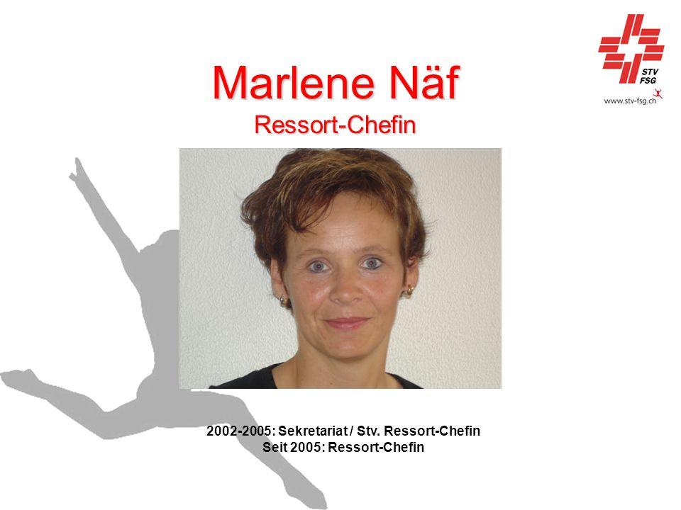 Marlene Näf Ressort-Chefin