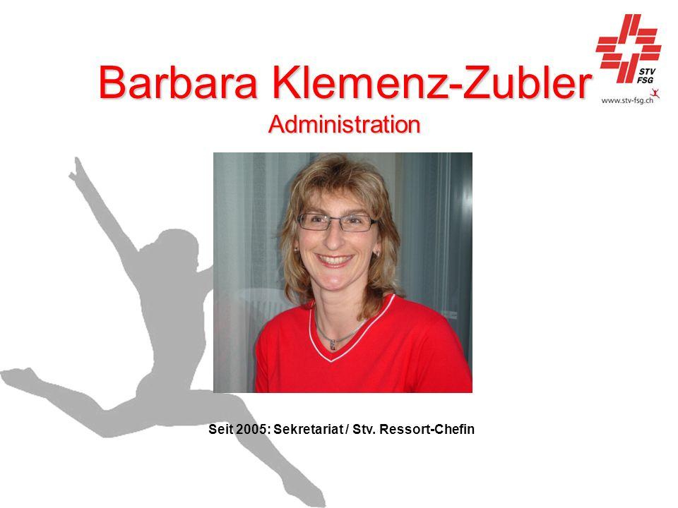 Barbara Klemenz-Zubler Administration