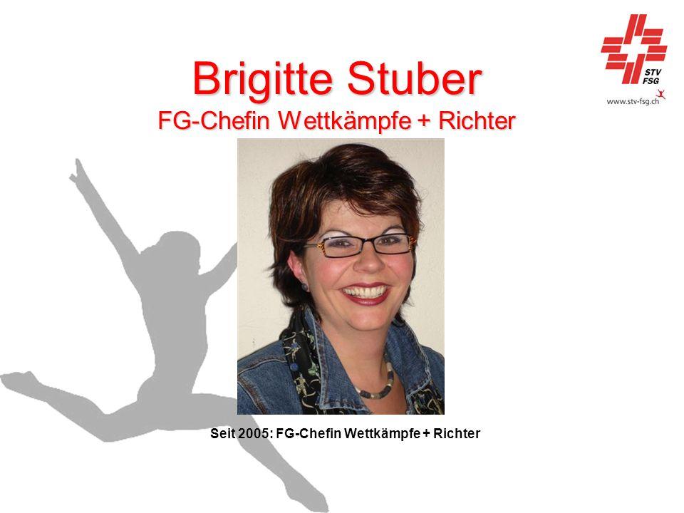 Brigitte Stuber FG-Chefin Wettkämpfe + Richter