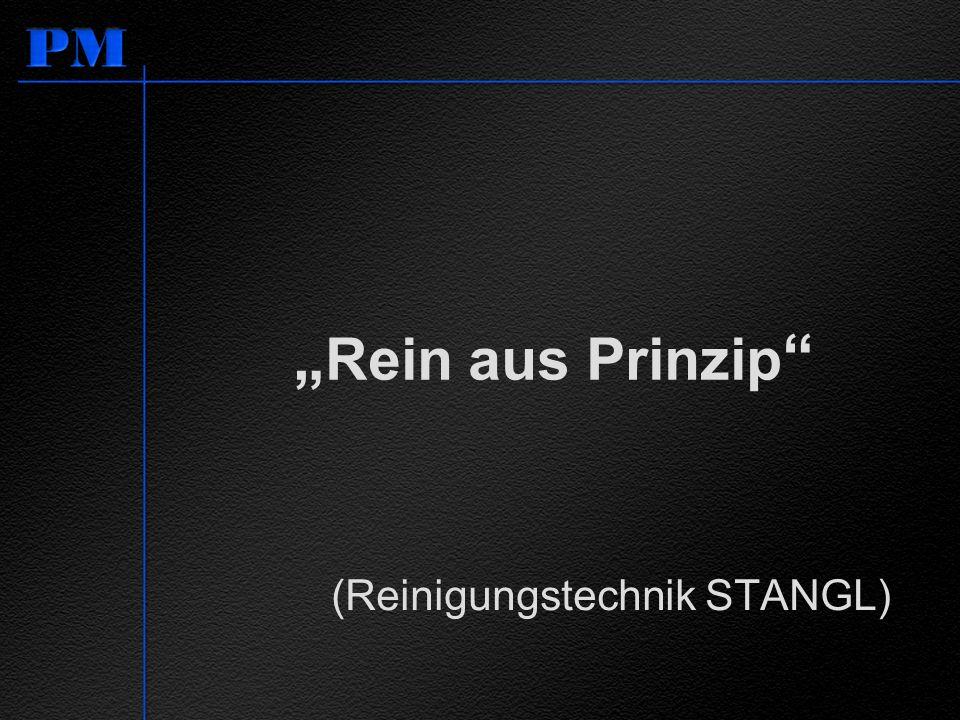 """""""Rein aus Prinzip (Reinigungstechnik STANGL)"""