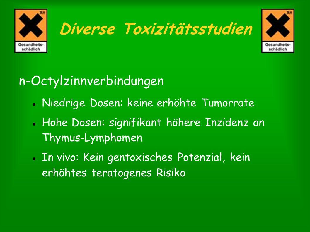 Diverse Toxizitätsstudien