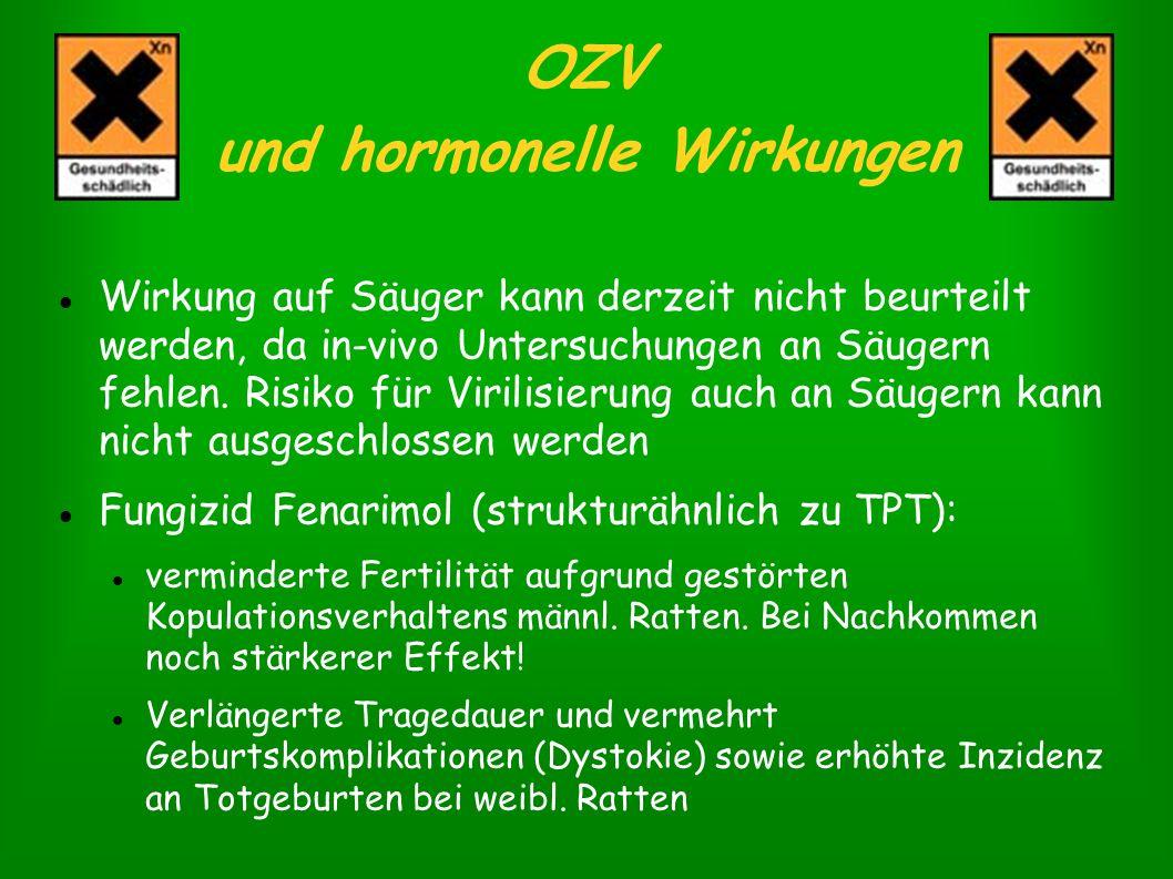 OZV und hormonelle Wirkungen