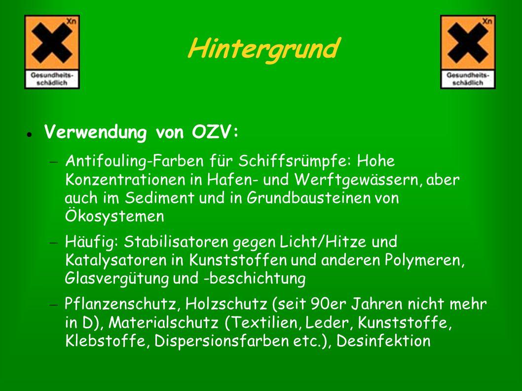 Hintergrund Verwendung von OZV: