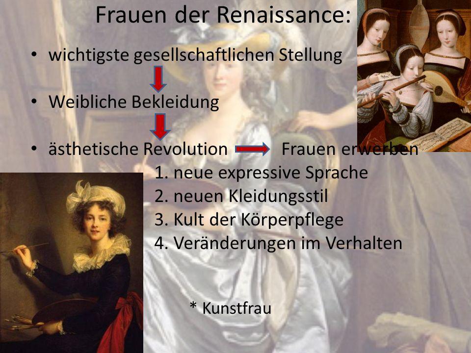 Frauen der Renaissance: