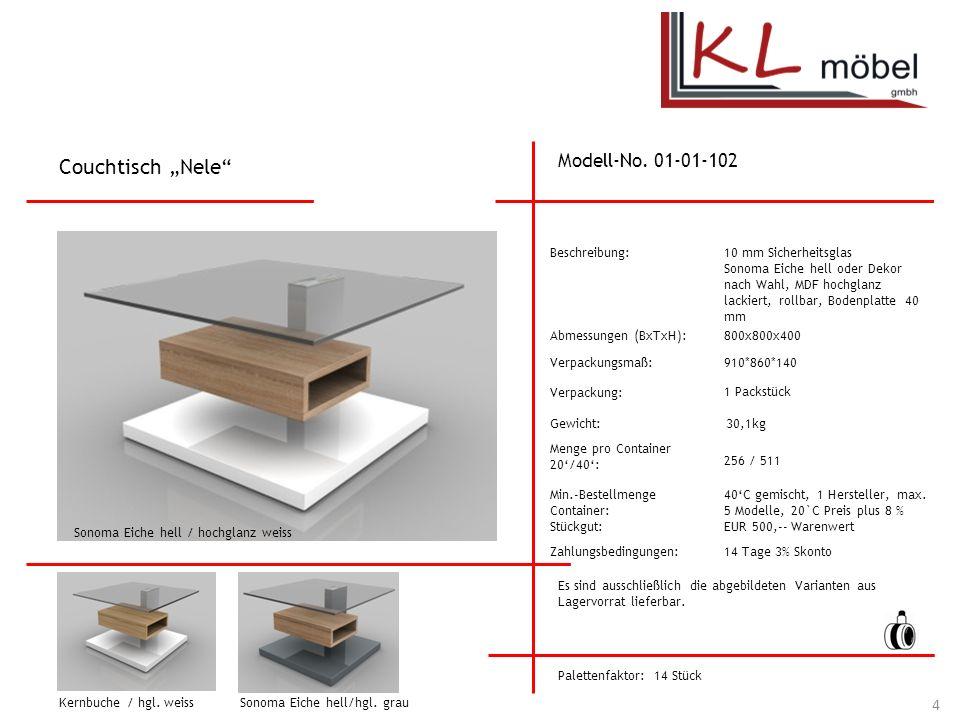 """Couchtisch """"Nele Modell-No. 01-01-102 Beschreibung:"""
