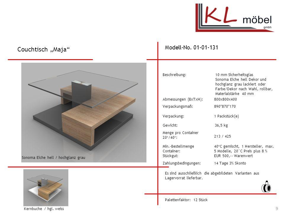 "Couchtisch ""Maja Modell-No. 01-01-131 Beschreibung:"