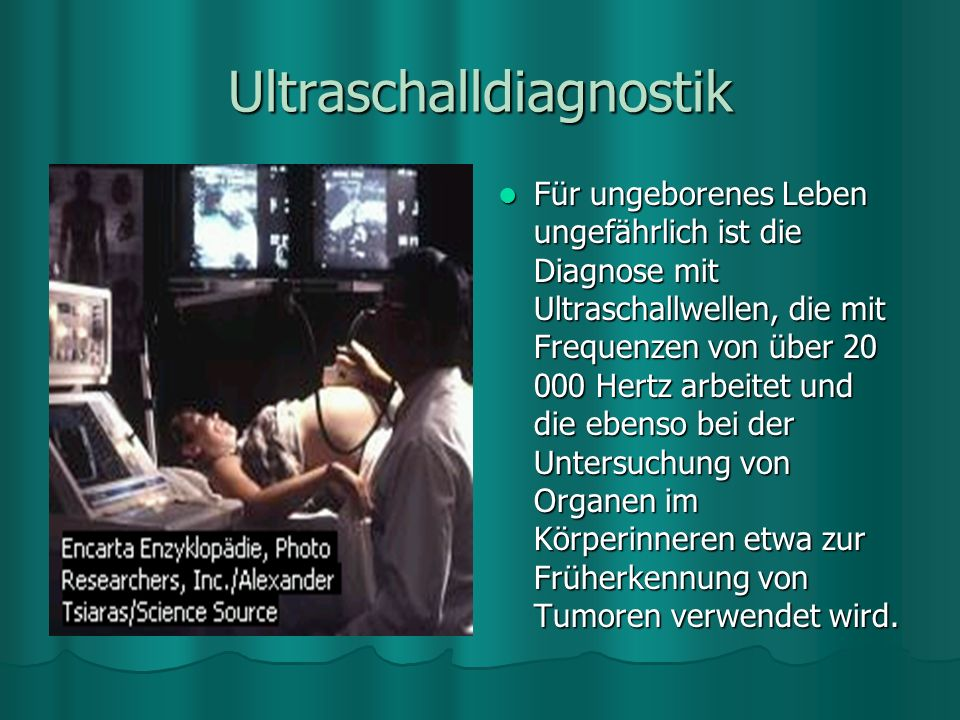 Ultraschalldiagnostik