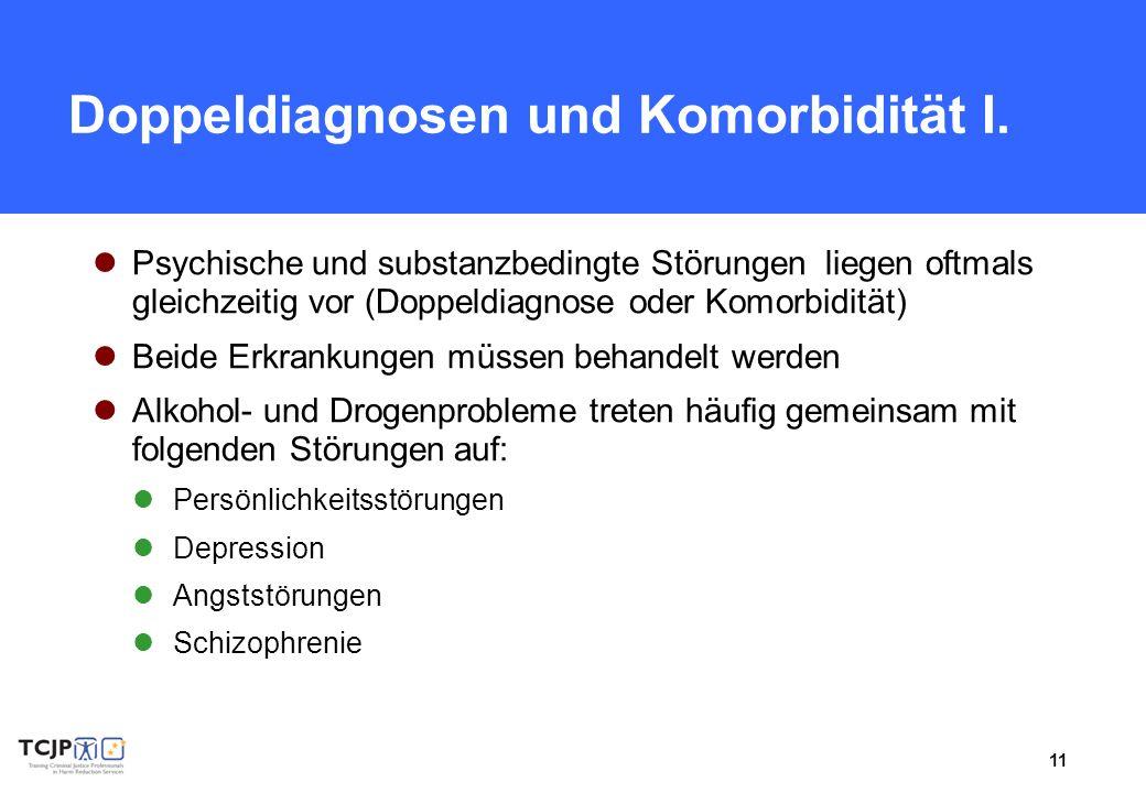 Doppeldiagnosen und Komorbidität I.