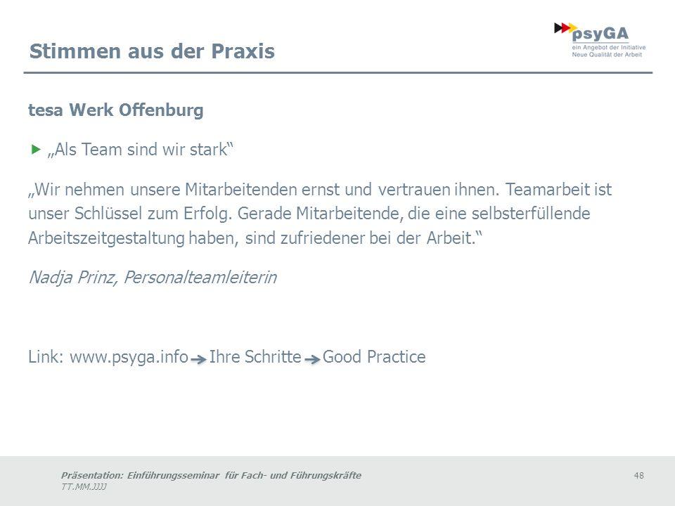 """Stimmen aus der Praxis tesa Werk Offenburg """"Als Team sind wir stark"""