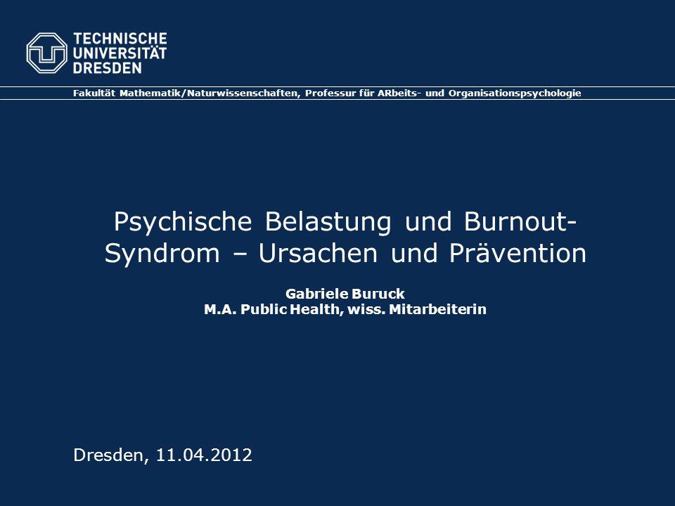M.A. Public Health, wiss. Mitarbeiterin