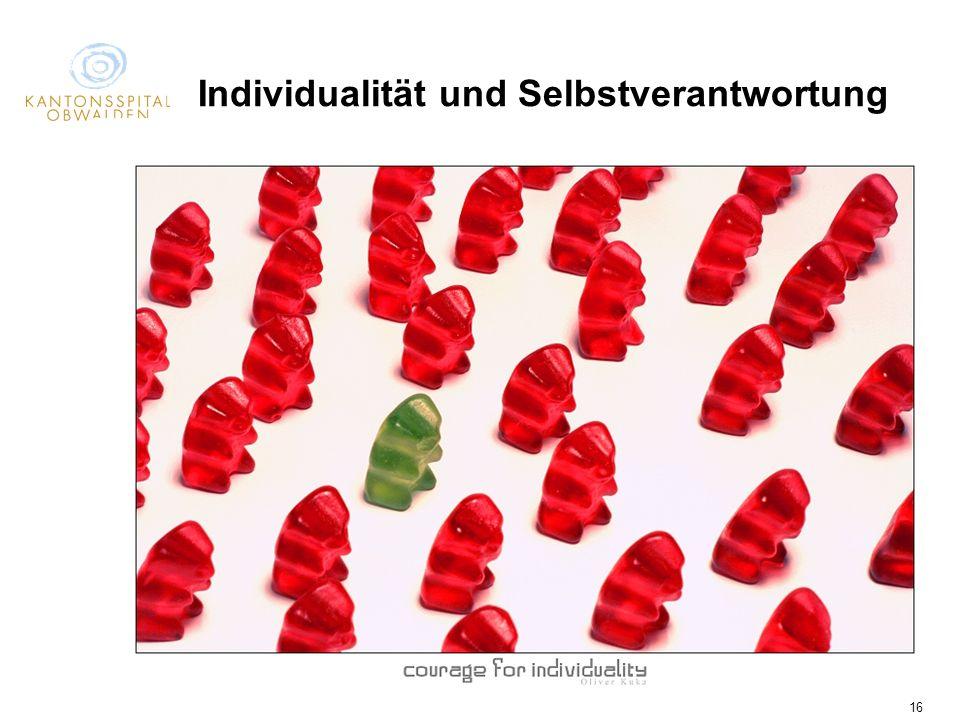 Individualität und Selbstverantwortung