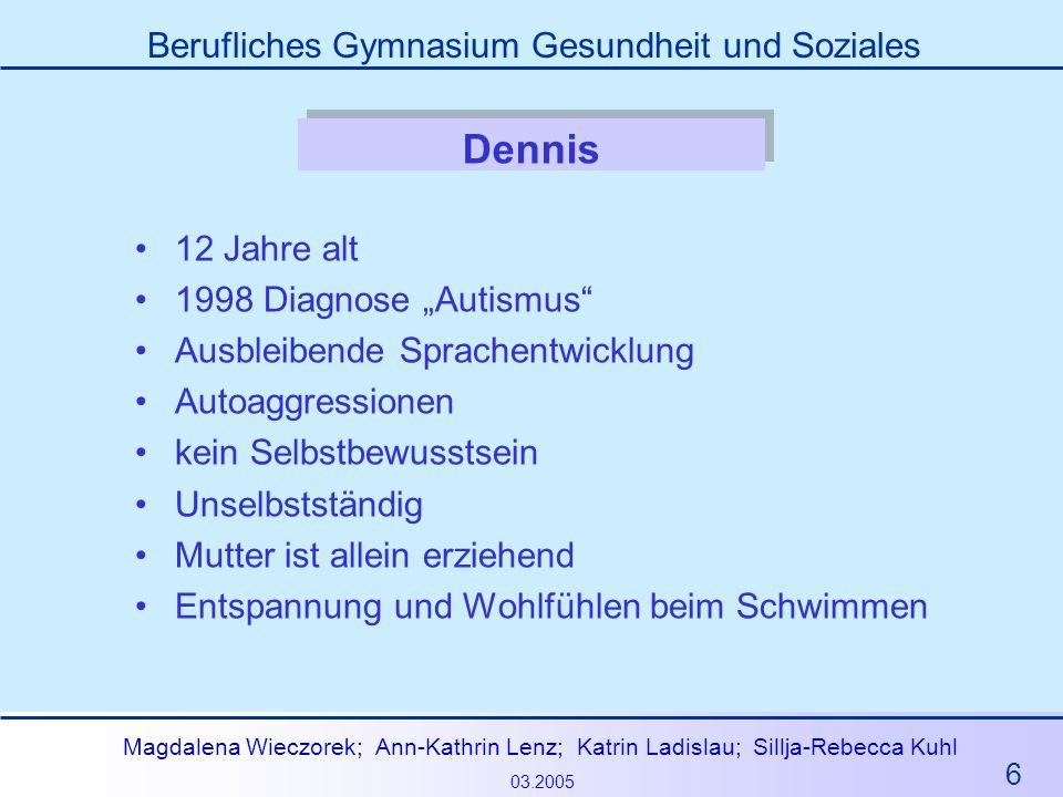 """Dennis 12 Jahre alt 1998 Diagnose """"Autismus"""
