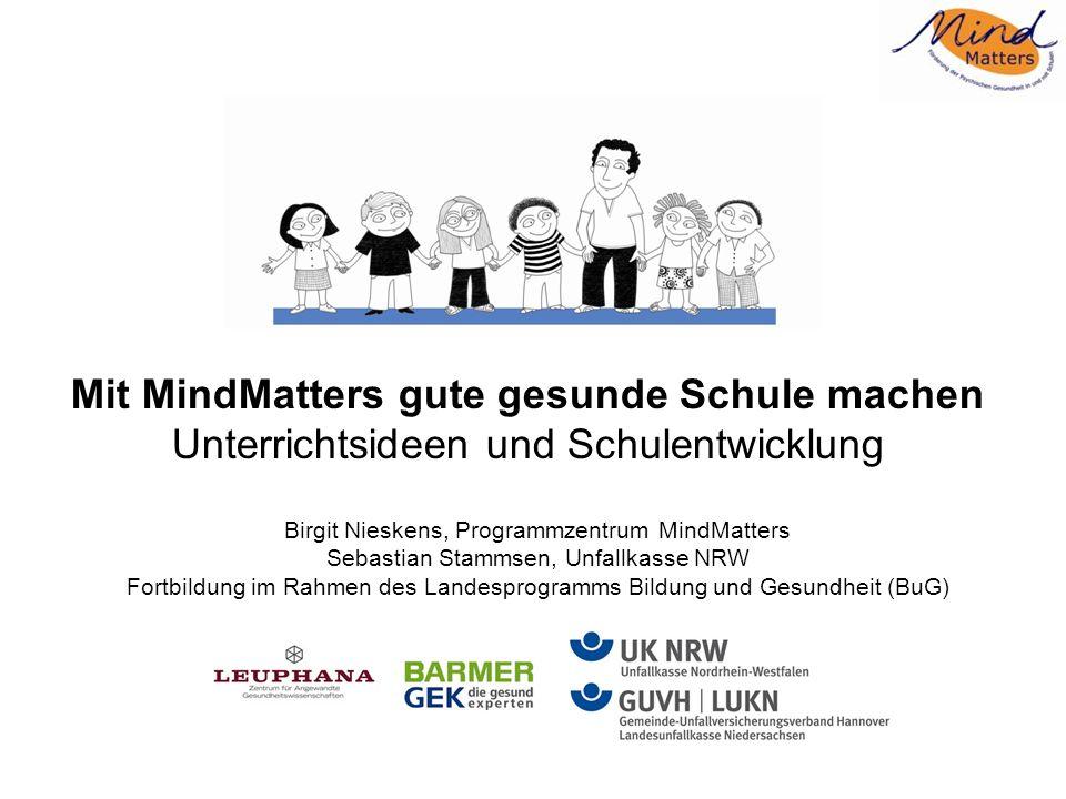 Agenda MindMatters – Einführung in das Programm