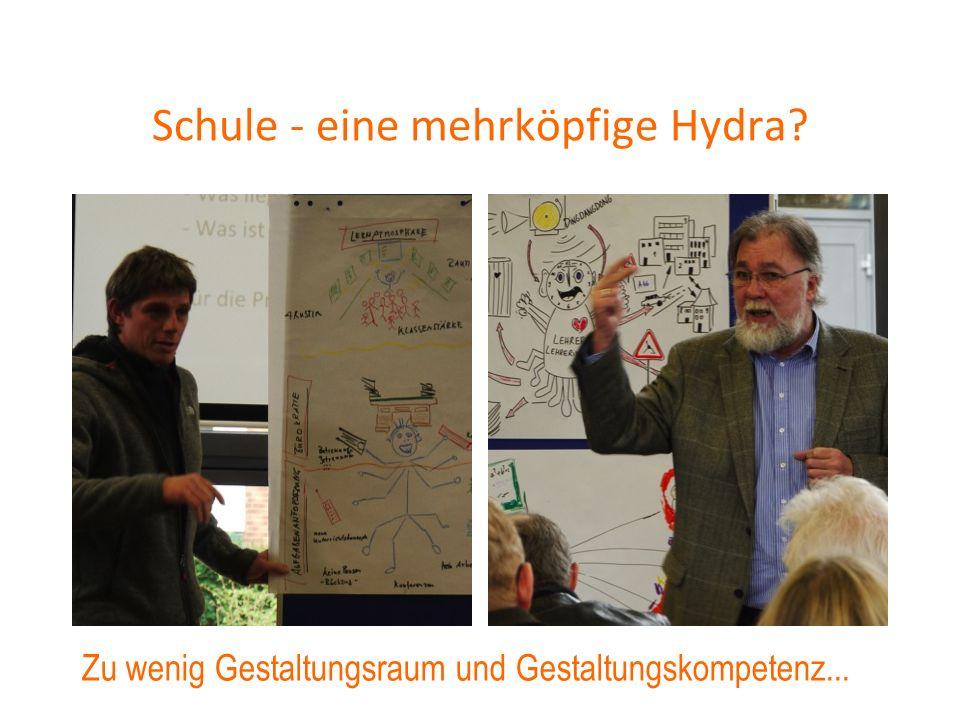 Schule - eine mehrköpfige Hydra