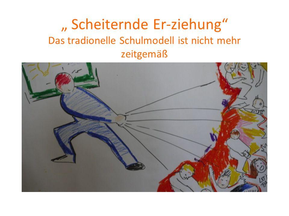 """"""" Scheiternde Er-ziehung Das tradionelle Schulmodell ist nicht mehr zeitgemäß"""