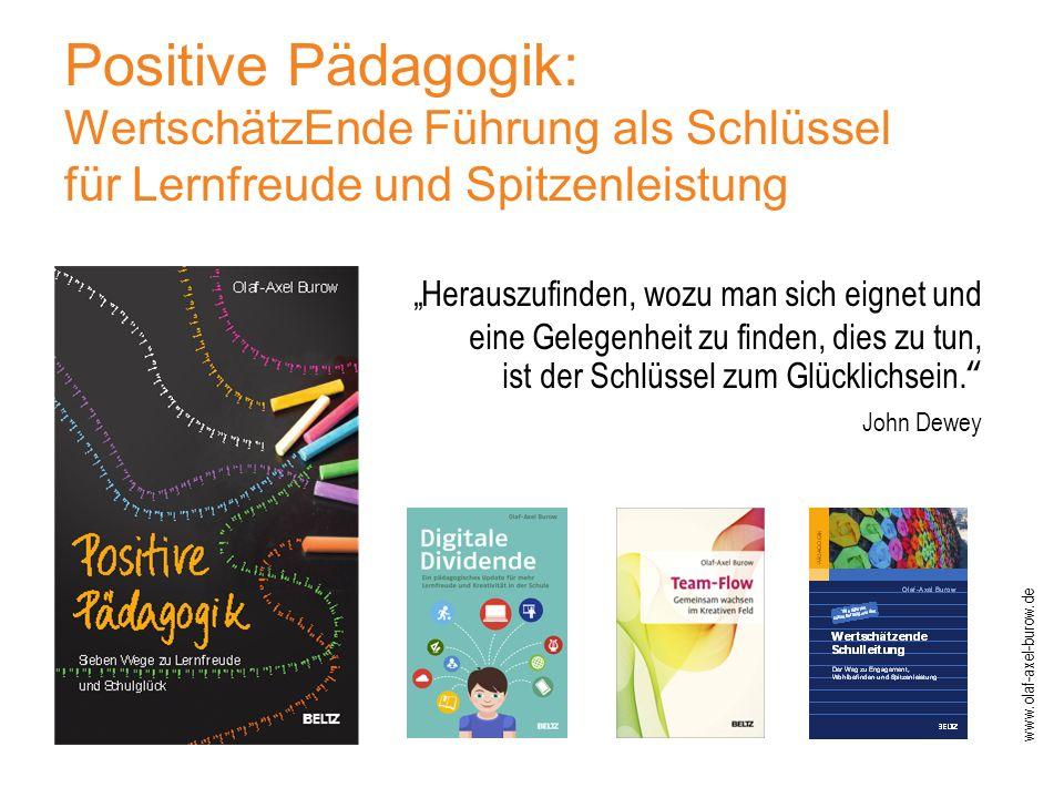 Positive Pädagogik: WertschätzEnde Führung als Schlüssel für Lernfreude und Spitzenleistung