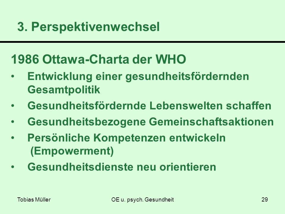 3. Perspektivenwechsel 1986 Ottawa-Charta der WHO