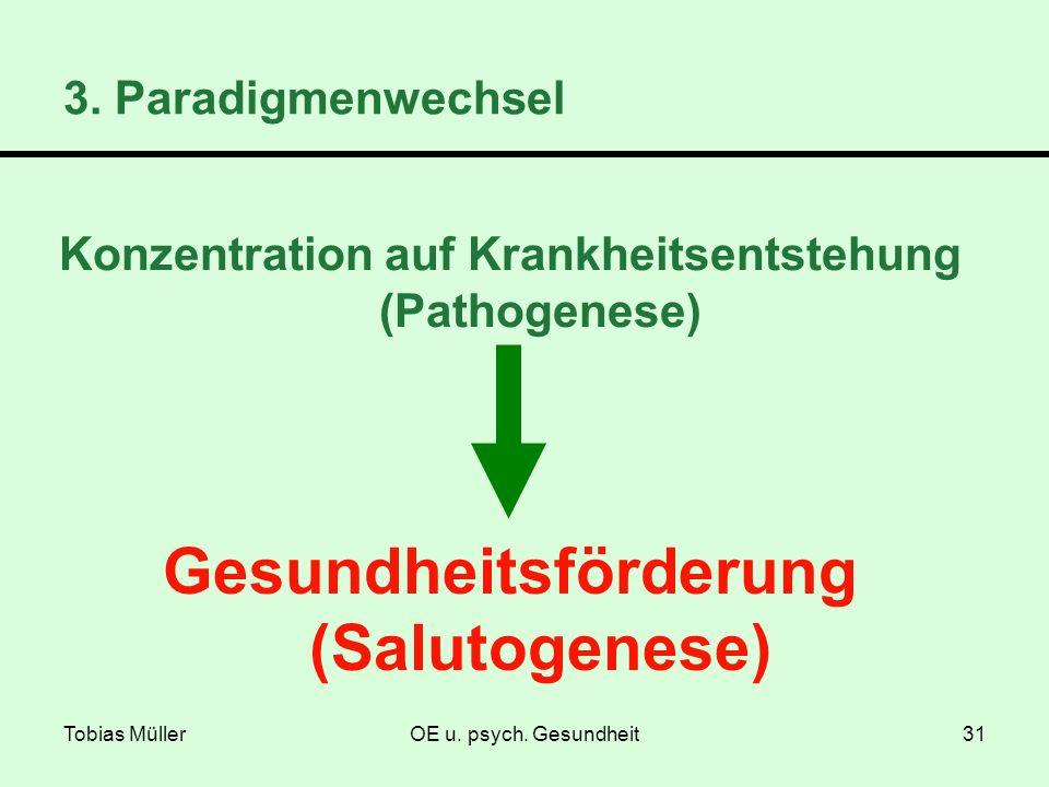 Gesundheitsförderung (Salutogenese)