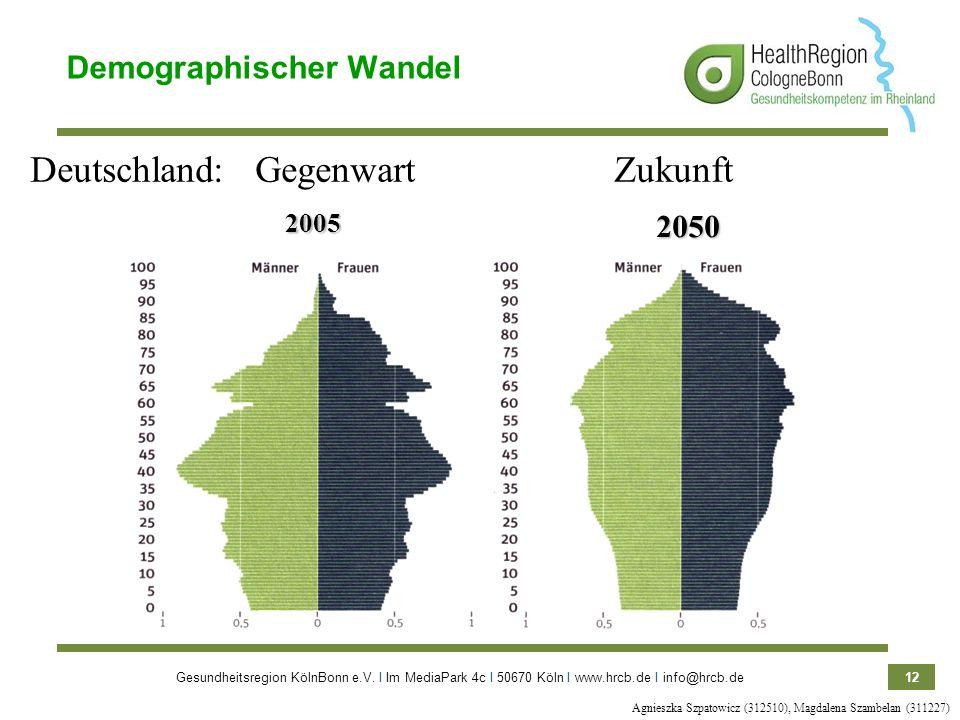 Deutschland: Gegenwart Zukunft