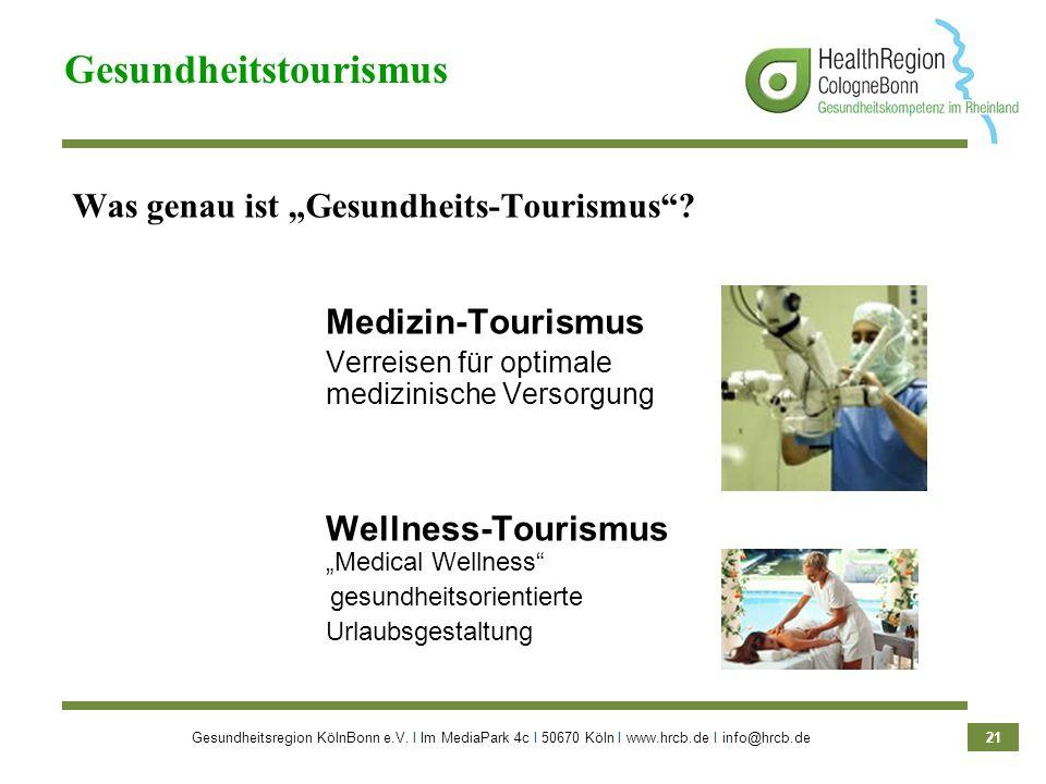 """Was genau ist """"Gesundheits-Tourismus"""