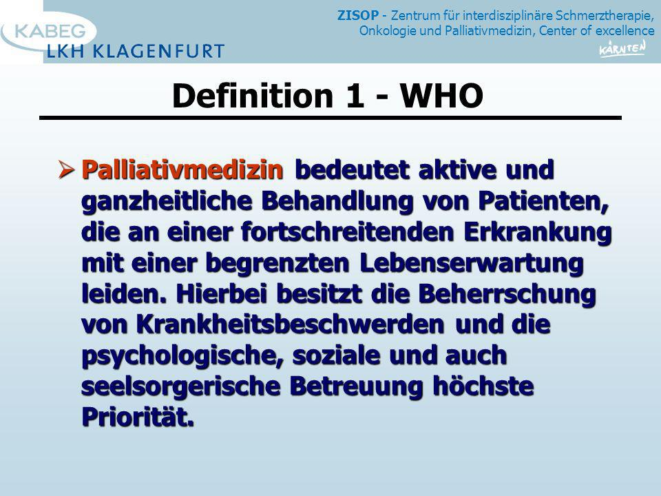 Definition 1 - WHO
