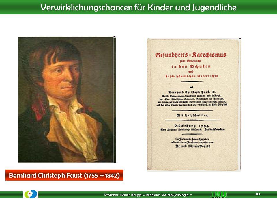 Bernhard Christoph Faust (1755 – 1842)