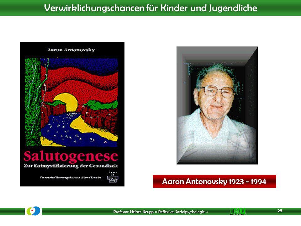 Aaron Antonovsky 1923 - 1994 25