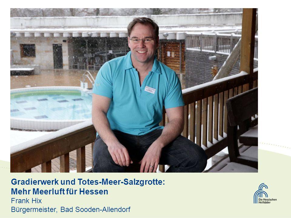 Gradierwerk und Totes-Meer-Salzgrotte: Mehr Meerluft für Hessen