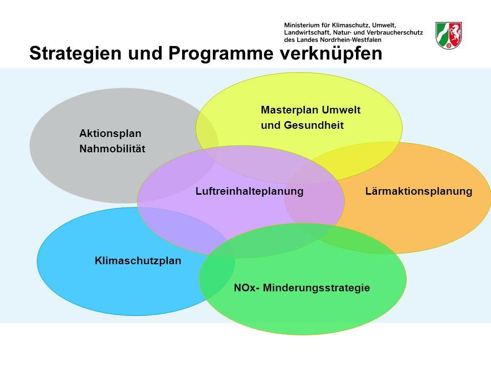 Strategien und Programme verknüpfen