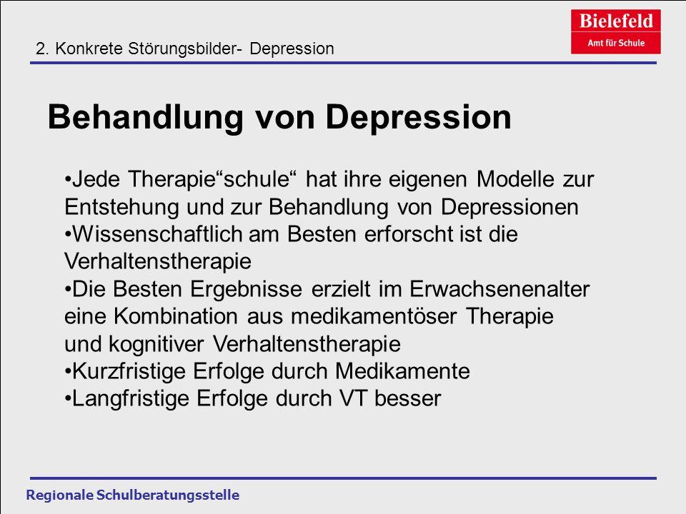 Behandlung von Depression