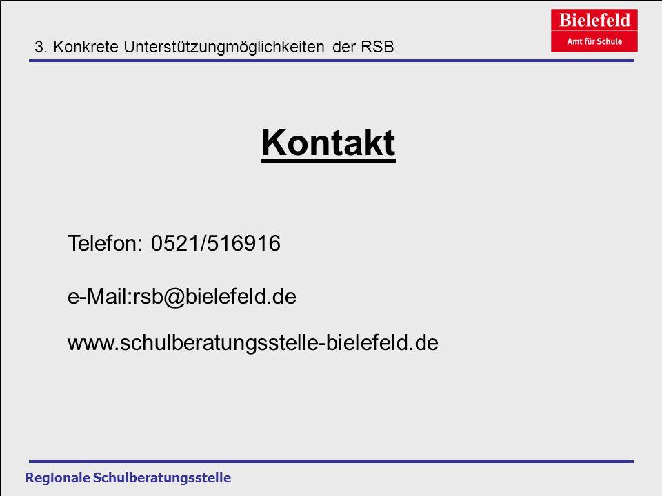 Kontakt Telefon: 0521/516916 e-Mail:rsb@bielefeld.de