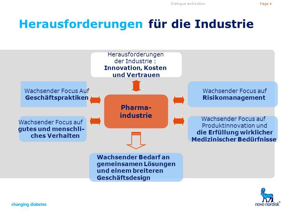Herausforderungen für die Industrie