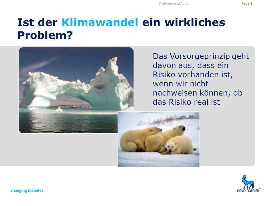 Ist der Klimawandel ein wirkliches Problem