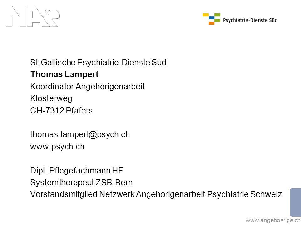 St.Gallische Psychiatrie-Dienste Süd Thomas Lampert